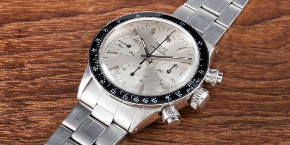 "Rare Eric Clapton Rolex Daytona 6263 Oyster ""Albino"" Beats World Records at Auction"