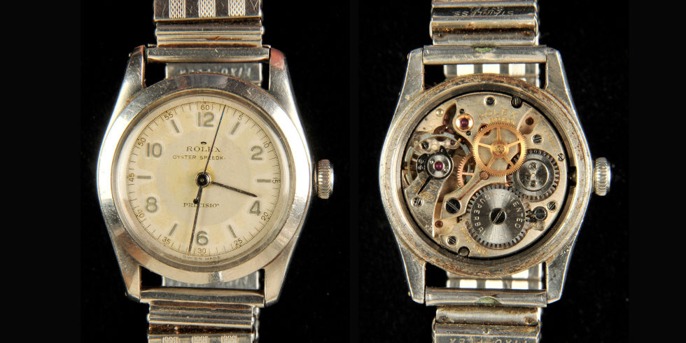 Rolex WWII 'Great Escape' Watch Could Fetch Nearly $40,000 at Auction